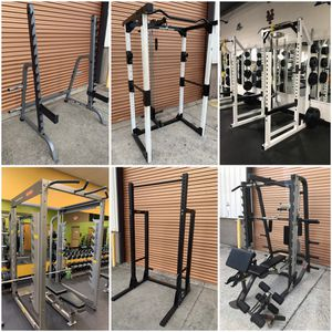 Olympic Power Racks/ Squat Racks, Smith Machines, Half Racks, Weight Benches, Plates, Dumbbells etc for Sale in Davenport, FL