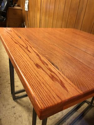 Solid wood restaurant tables, oak tables, solid wood for Sale in Katy, TX