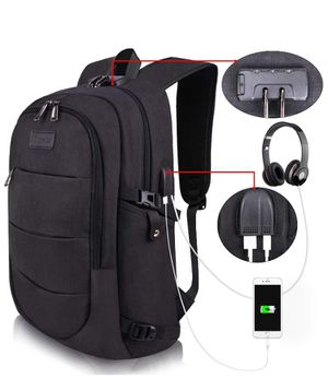 Camping, Hiking, Travel, Anti-Theft Backpack, Water Resistant w USB Charging Port for Sale in Artesia, CA