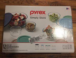 Pyrex 12 piece simply store set for Sale in Atlanta, GA