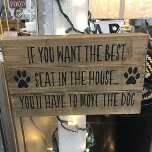 """Brand New Wood Dog Sign (Dimensions: 13""""x8"""") for Sale in North Las Vegas, NV"""