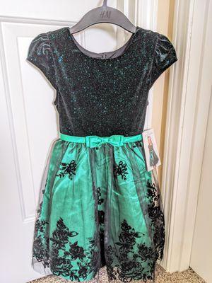 Jona Michelle Toddler Dress - Green - Size 8T for Sale in Auburn, WA