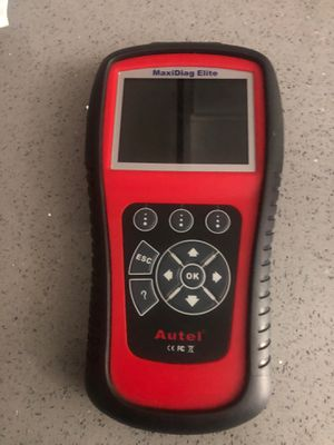 Autel maxiDiag Elite obd scanner for Sale in Rancho Cucamonga, CA