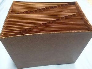 Heavy Duty Expanding File, 1-31 Index, Letter Size, 31-Pocket, Brown- for Sale in Northfield, OH