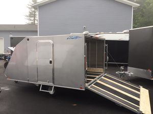 """2021 Nitro 12'x101"""" enclosed hybrid crossover trailer will trade for Sale in Westford, MA"""