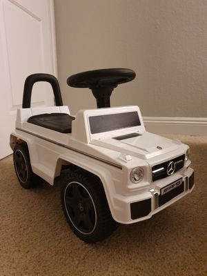Kids Luxury Mercedes Foot-to-floor Push or Ride on for Sale in San Diego, CA
