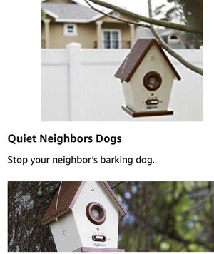 DOGTEK Sonic Bird House Bark Control Outdoor/Indoor for Sale in Chicago, IL
