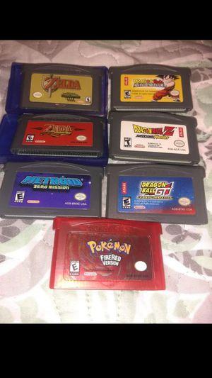Popular game boy advance games price on description for Sale in Escondido, CA