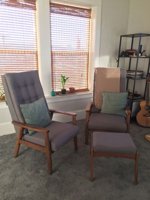 Brand new sofa chairs and ottoman for Sale in Portland, OR