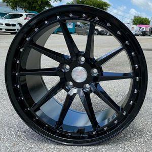 """Brand New 18"""" HM4 5x114.3Black Wheels for Sale in Miami, FL"""