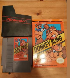 Donkey Kong Classics (Nintendo) in Box and Sleeve for Sale in Santa Maria, CA