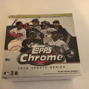 Topps Chrome 2020 Update Series for Sale in Downey, CA