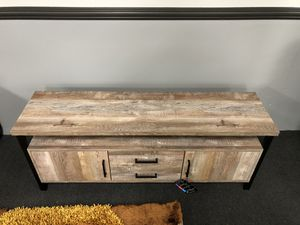 """60"""" TV Stand Rustic Wood for Sale in Fresno, CA"""