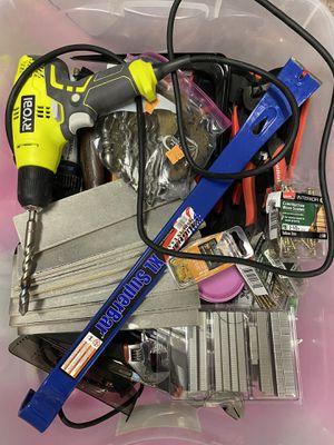 Big ol box of random tools for Sale in Lexington, KY