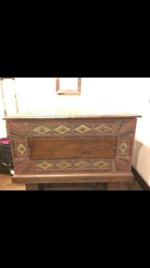 Hand Carved Chest for Sale in Austin, TX