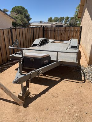 Custom built durable trailer (specs in photos). for Sale in Apple Valley, CA