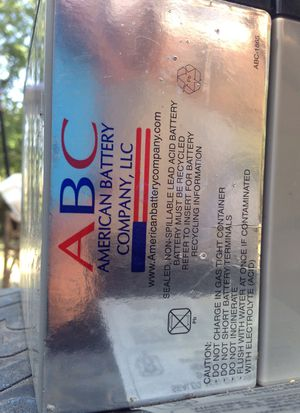 ABC rechargeable battery for Sale in Waco, TX