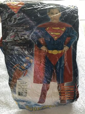 Superman kids costume new size 7/8 for Sale in Babson Park, FL