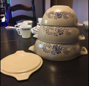 Pyrex Homestead Cinderella bowls for Sale in Temple, GA
