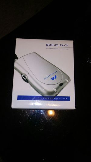 Williams Sound PocketTalker Ultra DUO w/ Headphones & Earbuds for Sale in Pittsburgh, PA