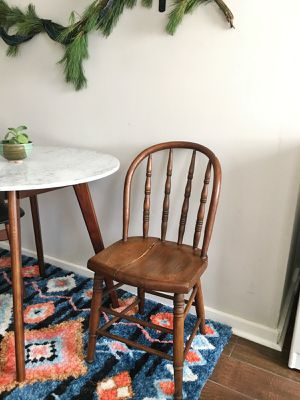 Antique Wooden Handmade Chair or Nightstand for Sale in Nashville, TN