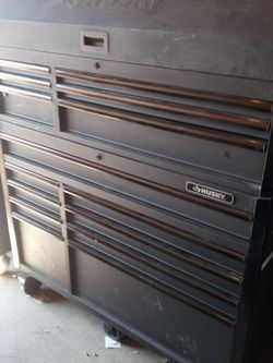 Husky Rolling tool Box Heavy Duty 15 Drawers for Sale in Los Angeles,  CA
