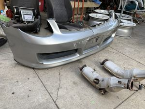 Infiniti G35 front bumper, side skirts and rear lip. for Sale in Los Angeles, CA