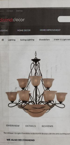 Big Chandelier for Sale in Wimauma, FL