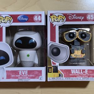 Disney Funko Pops - Wall-E and Eve for Sale in San Diego, CA