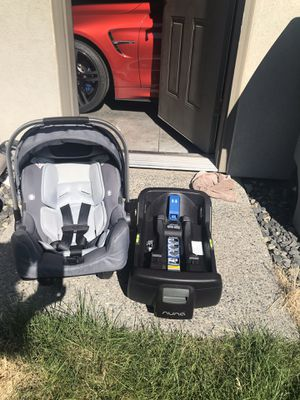 Nuna Pipa car seat with base for Sale in West Richland, WA