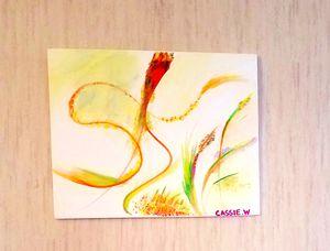 """God's Favorite Color"" 8x10 Gouache Canvas for Sale in Charlottesville, VA"