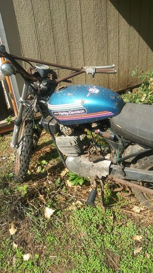 1974 2-stroke engine Harley Davidson- 125cc- with a clean title for Sale in Portland, OR