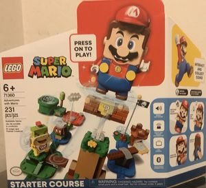 New LEGO Super Mario Adventures with Mario Starter Course Building Kit Collectible 71360 for Sale in San Diego, CA
