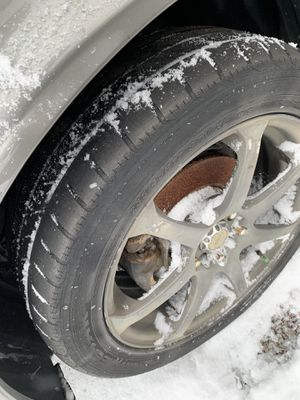 Set of 4 Black Tires & Rims for Sale in Columbus, OH
