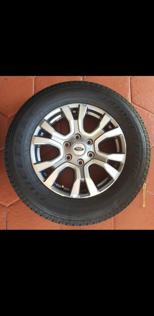 Set of fourTires and rims for Sale in Hialeah, FL