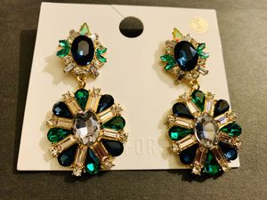 Blue and green earrings for Sale in Gaithersburg, MD