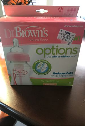 Drs browns bottles for Sale in Apple Valley, CA