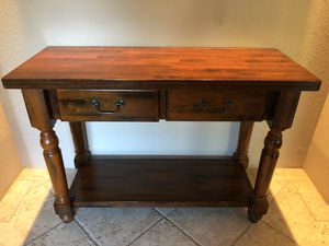 Solid wood entry or console table for Sale in Bothell, WA