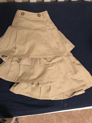 Girls Khaki uniform skirts for Sale in Alexandria, VA