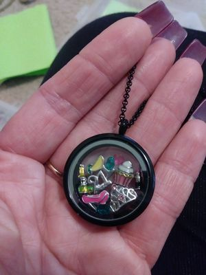 21st birthday locket necklace gift for Sale in Lakewood, CA