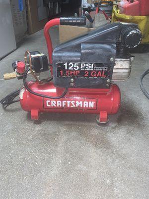 Craftsman air compressor for Sale in Cicero, IL