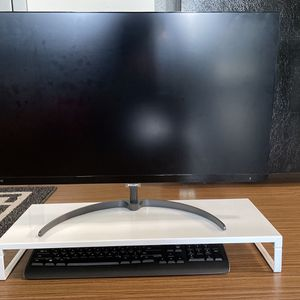 White Metal Monitor Stand/riser for Sale in Los Angeles, CA