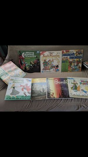 Disney Records, original sleeves, still play for Sale in Williamson, NY