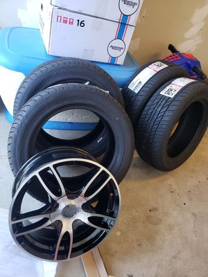 New tires and racing rims for Sale in Moreno Valley, CA