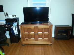 Large Wooden Cabinet for Sale in Martinsburg, WV