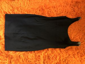 Michael Kors (made in Italy) size 12 Little Black Dress with cute chain detail for Sale in Portland, OR