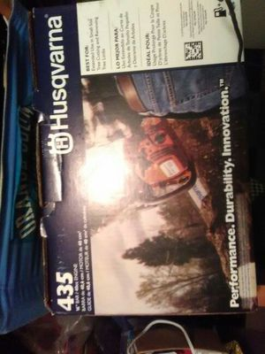 Husqvarna 435 chainsaw brand new in the box never used for Sale in Portland, OR