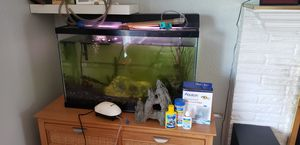 Fish tank with fish for Sale in Everett, WA