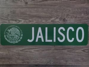 Custom authentic street sign,Mexico,Jalisco ,Guadalajara,las China's,Chicago ,sports,car club, memorabilia, toys, tools, electronics,man cave,garage, for Sale in Berwyn, IL