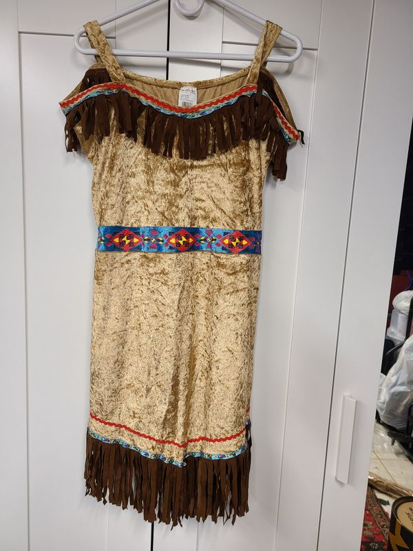 Pocahontas costume, disfraz (fits Sizes 8-12)